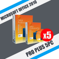 Microsoft Office 2010 Pro Plus 5 ПК