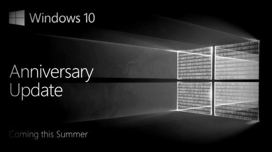 Установка Windows 10 Anniversary Update
