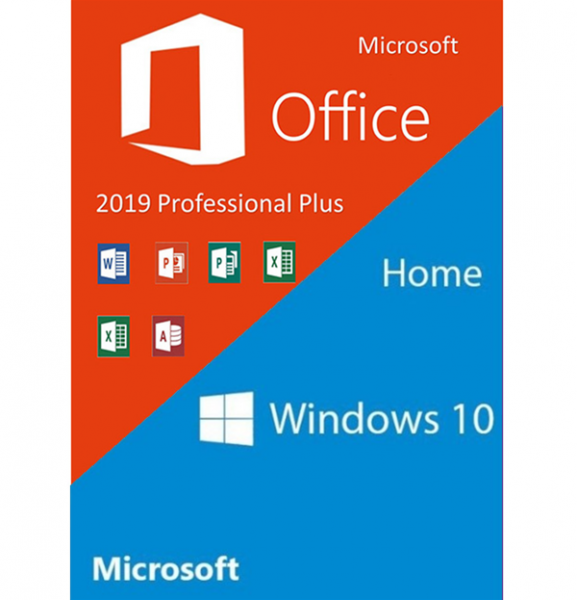 Windows 10 Home + Office 2019 ProPlus
